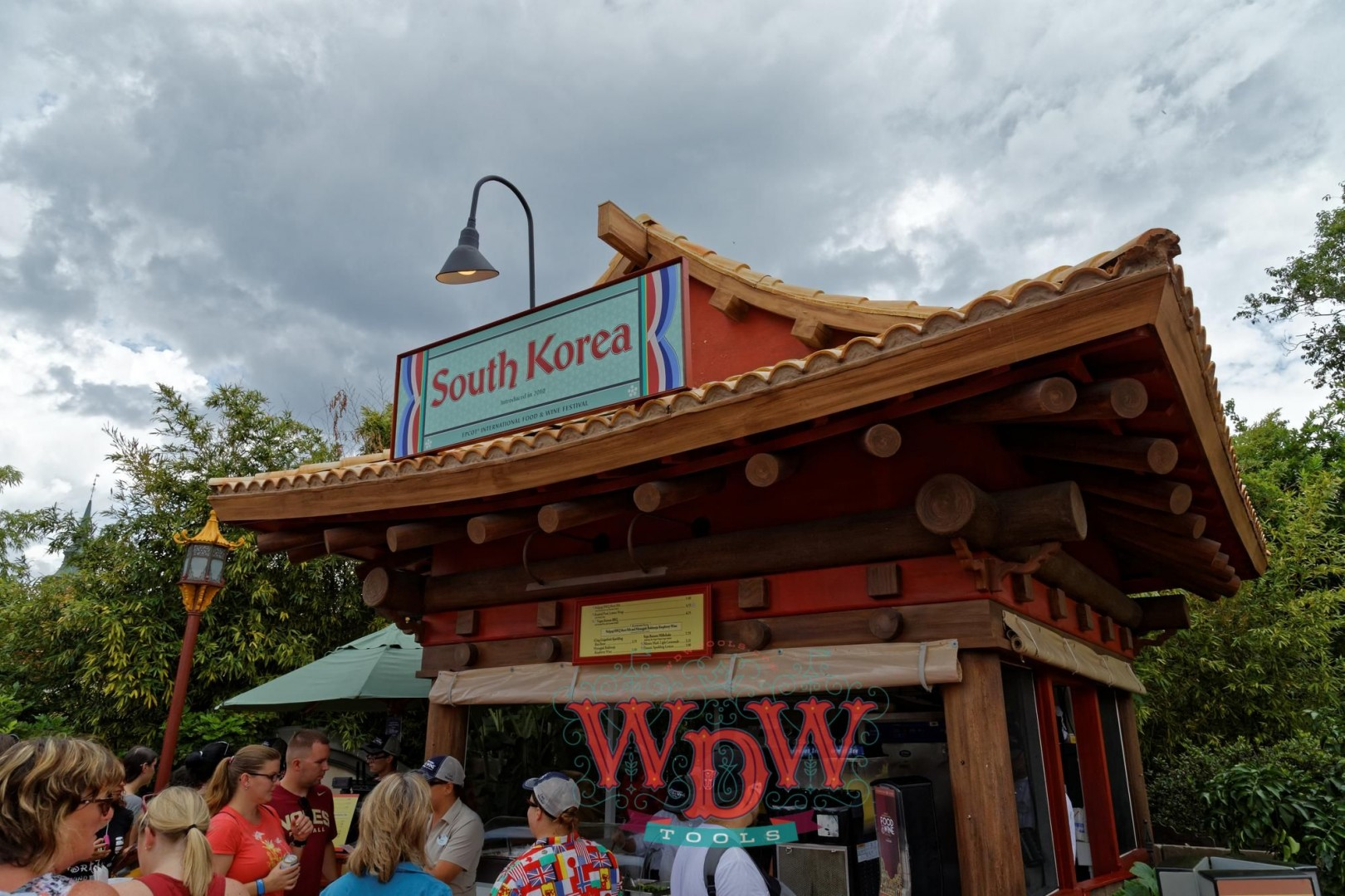 South Korea Booth at Epcot's Food and Wine 2015