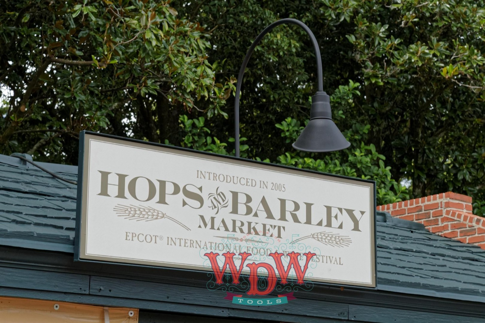 Hops and Barley Market Sign at Epcot's Food and Wine 2015