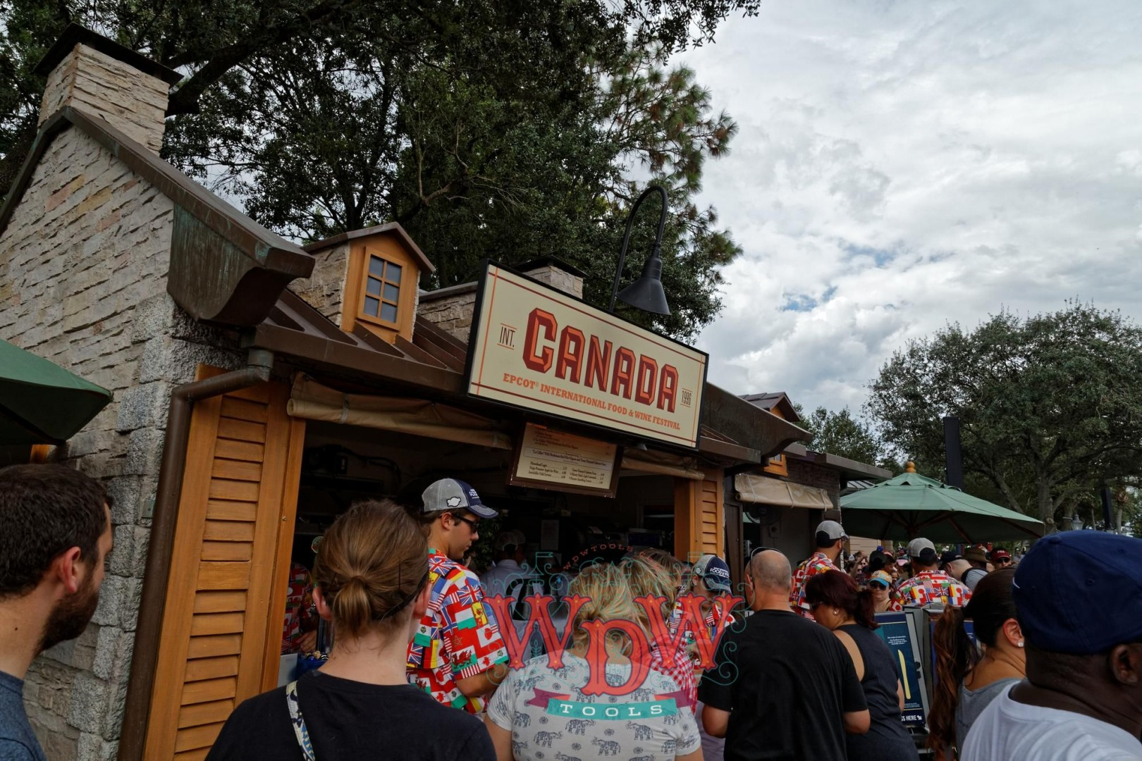Canada Booth at Epcot's Food and Wine 2015